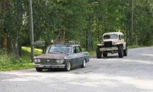 Autoletkassa oli monia persoonallisia ajoneuvoja, niin uudempia kuin vanhempiakin.