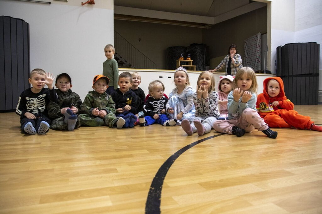 Ryhmiksissä on tällä hetkellä 23 lasta.